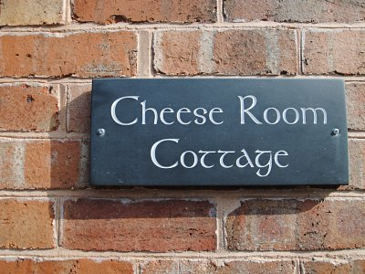 Cheese Room Sign